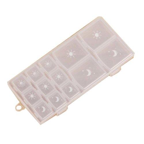 Small Pill Box Transparent Pill Case Pill Holder