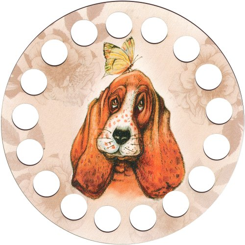 RTO Buratini Thread Organizer 13cm-Hound Dog