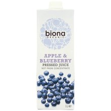 Biona Apple & Blueberry Juice Organic 1000ml
