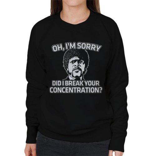 Pulp Fiction Inspired Jules Quote Women's Sweatshirt
