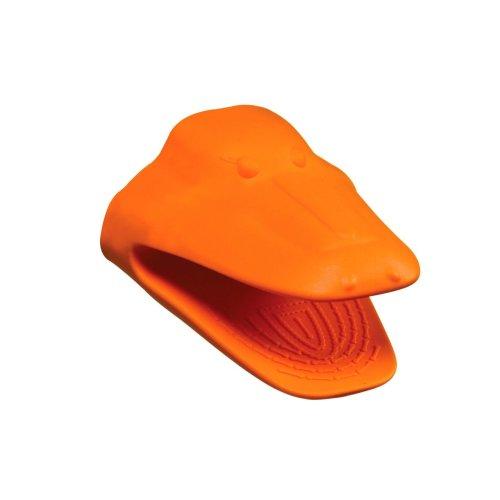 Crocodile Oven Mitt - Orange