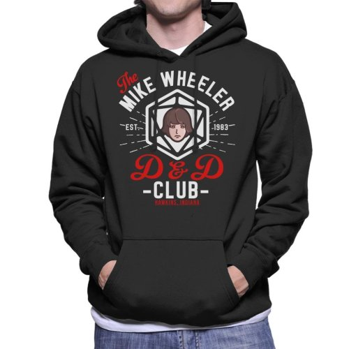 Stranger Things Mike Wheelers D And D Club Men's Hooded Sweatshirt