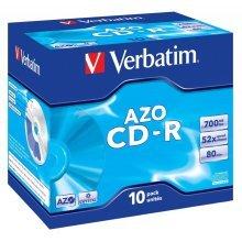 Verbatim CD-R AZO Crystal CD-R AZO 700MB 10pc(s)