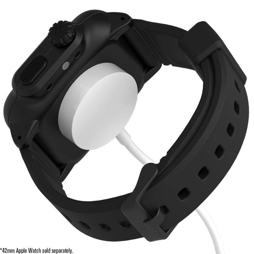 huge discount 1d403 64bb9 Catalyst case for 42mm Apple Watch Series 3 & Series 2 - Waterproof Shock  Resistant (Stealth Black)