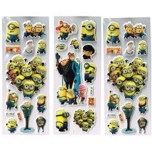 Despicable Me Sticker Sheets - 3 Items