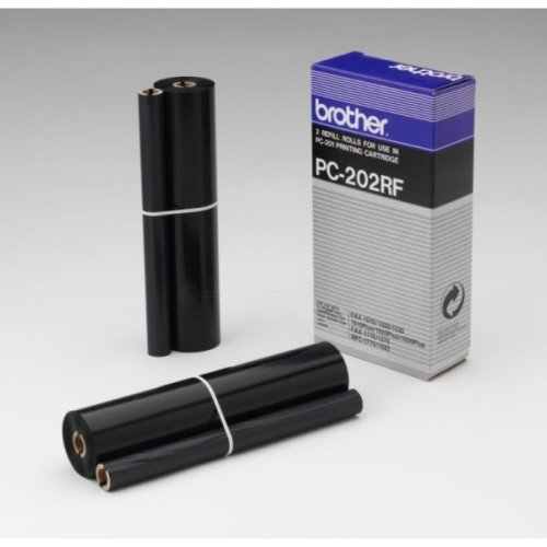 Brother PC-202RF Thermal-transfer-roll, 420 pages, Pack qty 2