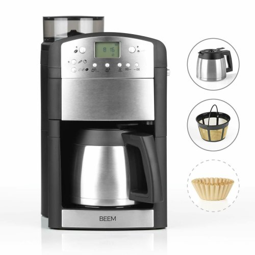 BEEM 02049 Coffee machine with grinder Fresh-Aroma-Perfect Thermolux