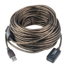 Trixes 20m USB Extension Cable | USB 2.0 Booster