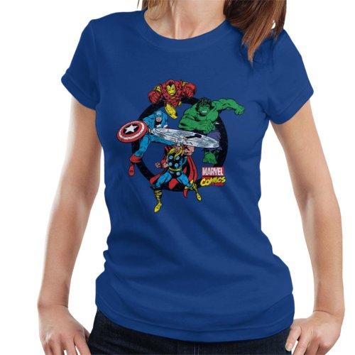 Marvel Avengers Circle Women's T-Shirt