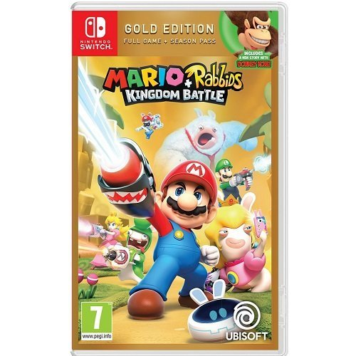 Mario Rabbids Kingdom Battle Gold Edition Nintendo Switch Game