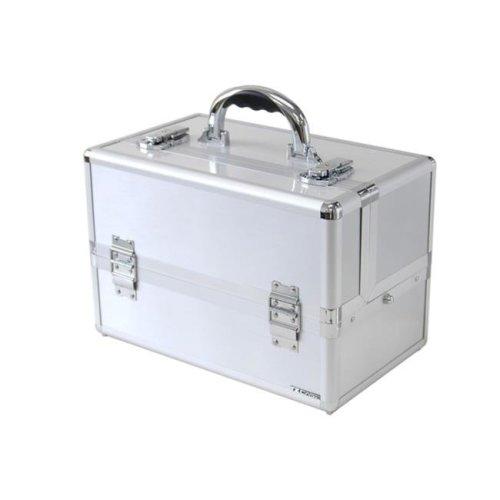 TZ Case TC-07 S Mini Pro Cosmetic Case, Silver