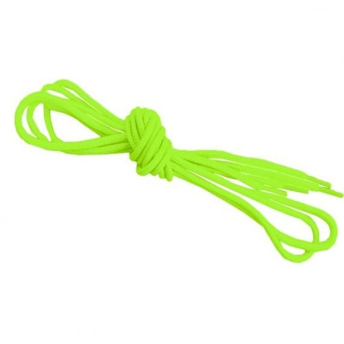 Neon Yellow Round Shoelaces Strings For Trainers Football Boots