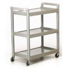GPC 3 Shelf Service Trolley HI424Y - Grey, Pack of 1