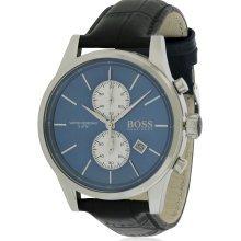 Hugo Boss Chronograph Leather Mens Watch 1513283