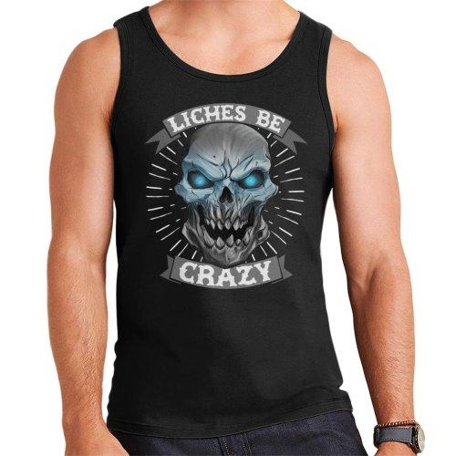 Liches Be Crazy Men's Vest