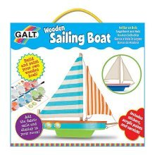 Make Your Own Wooden Sailing Boat - Galt Toys -  wooden boat galt toys sailing
