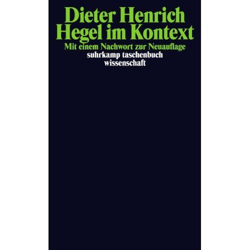 Hegel im Kontext