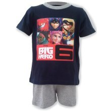 Navy Big Hero 6 Short Pyjamas