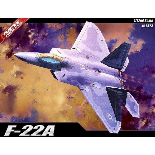 Aca12423 - Academy 1:72 - Lockheed Martin F-22a Raptor