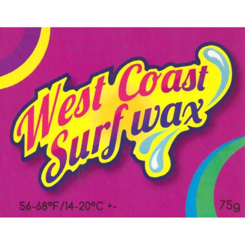 West coast cool water surf wax