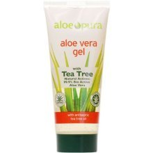 Aloe Pura Aloe Vera Gel & Tea Tree 200ml