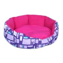 Detachable Small And Medium-sized Pet Kennel, Rose Red And Purple