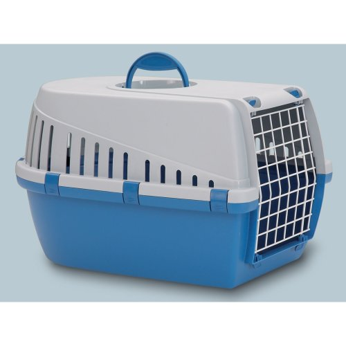 Trotter 3 Pet Carrier Airline Approved Blue/grey 60.5x40.5x39cm (Pack of 3)