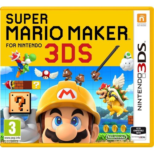 Super Mario Maker 3DS Nintendo 3DS Game