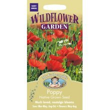 Mr Fothergills - Pictorial Packet - Wildflower - Poppy - 2000 Seeds