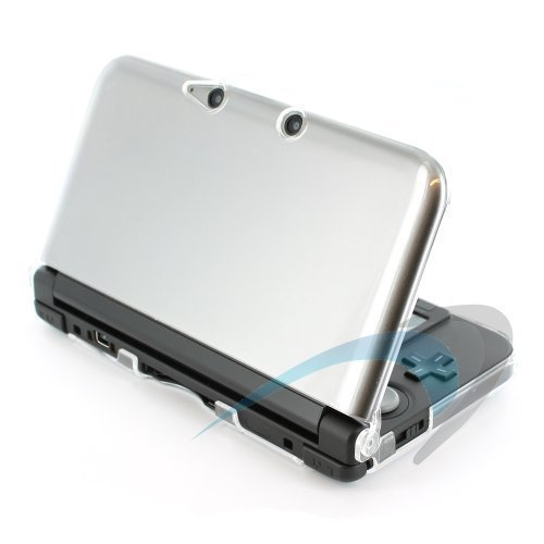 ZedLabz polycarbonate crystal hard case cover shell for Nintendo 3DS XL (Old 2012 model) protective armour - clear