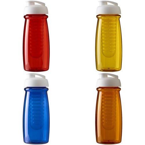 H2O Pulse 600ml Flip Lid Sport Bottle And Infuser