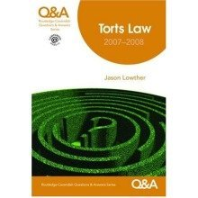 Q&a Torts 2007-2008 7/e (questions and Answers)