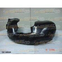 Skoda Octavia 2004-2009 Front Wing Arch Liner Splashguard Right O/s