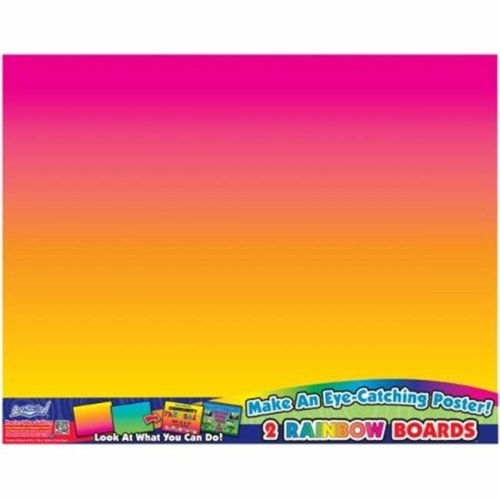 Rainbow Boards Posterboards 22''X28'' 2/Pkg-