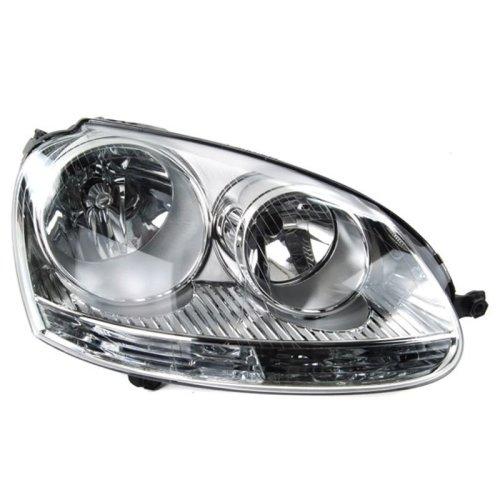 Volkswagen Golf Mk5 2004-2009 Headlights Headlamps Drivers Side O/s