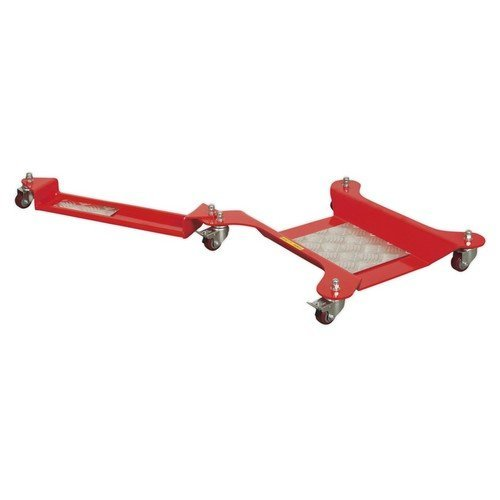Sealey MS063A Motorcycle Dolly Rear Wheel - Side Stand Type