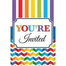 Bright Birthday Value Pack Invitations - /20