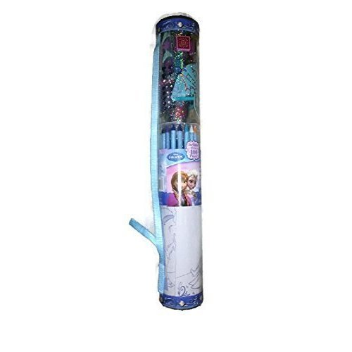 Disney Frozen Activity Tube - Crayons, Stickers, Posters and More! by Tara Toys