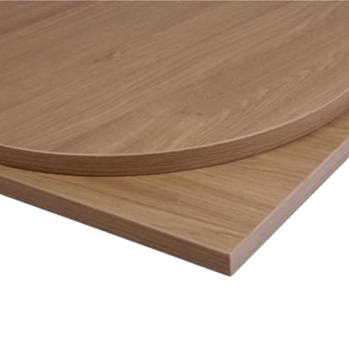 Taybon Laminate Table Top - Oak Round - 800mm