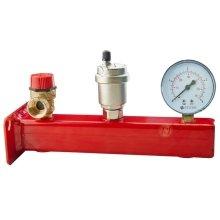 "3/4"" Safety Group Bar Boiler Heater Up to 50kw Valve Vent Manometer 3 or 6 Bar"