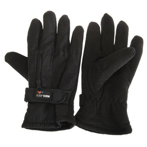 RockJock Mens Thermal Insulation Touch Fasten Gloves