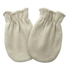 Warm Unisex-Baby Gloves Newborn Mittens Soft No Scratch Mittens, Pea-green
