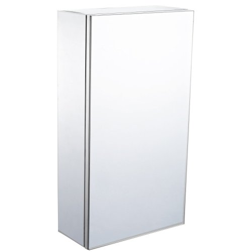Homcom Wall-mounted Bathroom Mirror Storage Cabinet