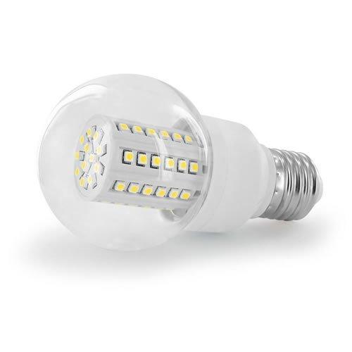 Whitenergy LED Bulb B60 60x SMD 3528 | E27 | 3W | 230V | Cold White (07568)