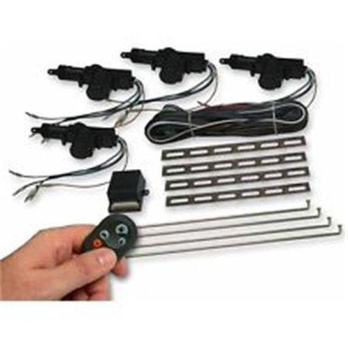 AutoLoc Power Accessories AUTCA2000 2 Door Lock Kit with Alarm