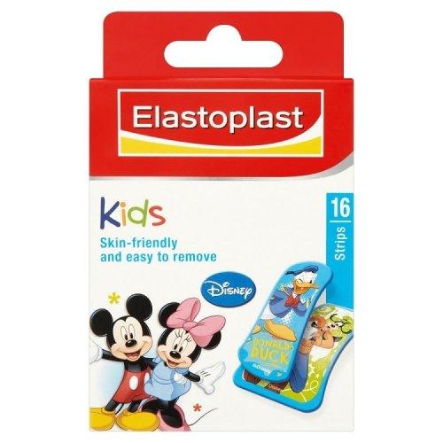 Elastoplast Mickey Mouse Assorted Plasters 16 Plasers