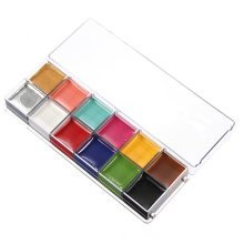 12 Colors Professional Body Oil Paints Drawing Cosplay Cosmetic