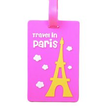Creative Cartoon Luggage Tag Name Tag/ID Holder Travel Accessories-A13
