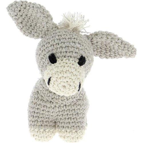 Hoooked PAK12030 Donkey Crochet Yarn Kit, Beige
