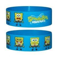 Spongebob Squarepants Rubber Wristband - New Faces Silicon Pyramid -  new spongebob faces silicon rubber wristband pyramid